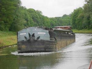 La batellerie - Expérience fluviale sur les fleuves, canaux et rivières navigables! Transport fluvial - Batellerie - Péniche - péniche freycinet ROSE D'OR à vendre