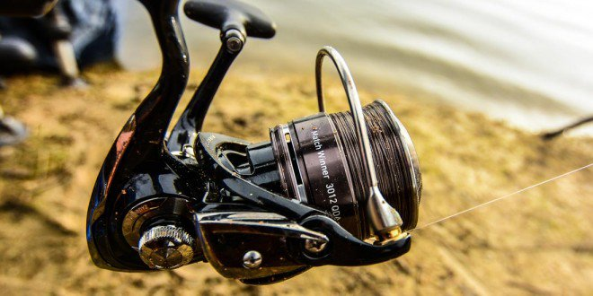 Test du moulinet Daiwa Match Winner 3012 - Peche-feeder.com
