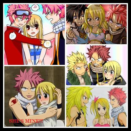 I really like Natsu being jealous