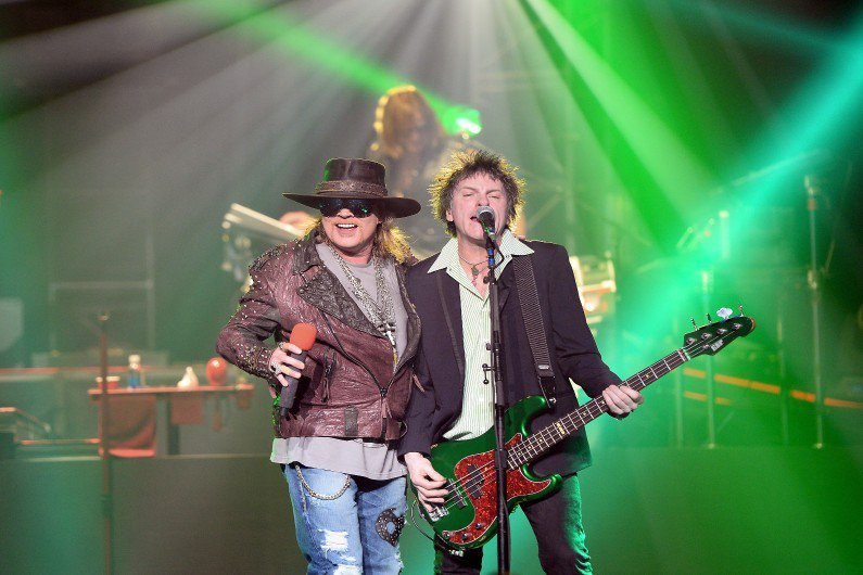 Les Guns N' Roses sont-ils en train de se reformer ?