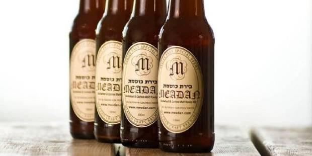 En Israël, de la bière sans gluten... aux pois chiches et dattes