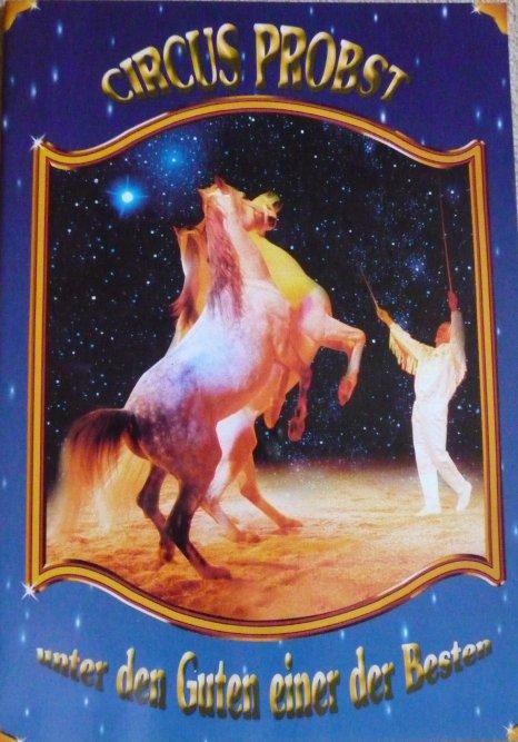 A vendre / On sale / Zu verkaufen / En venta / для продажи :  Programme Circus PROBST 2003