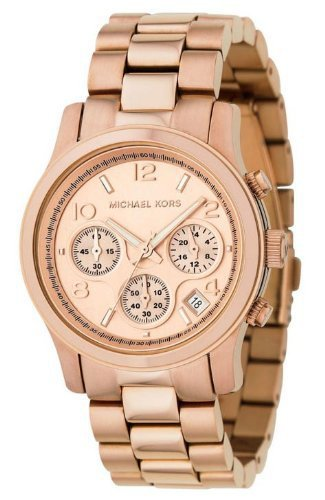 Ladies Rose Gold Chronograph Bracelet Watch MK5128 Review | Amazon Product reviews and prices Comparison, Amazon Best Sellers, and tech news