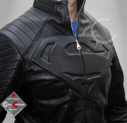Superman Leather Jacket | Clark Kent Smallville Black Jackets