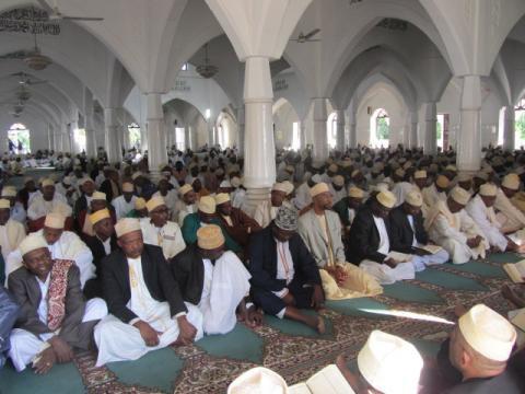 Amer début de ramadan aux Comores