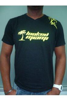 Tshirt noir personnalisé modèle 2008 - lOOked MIAMI