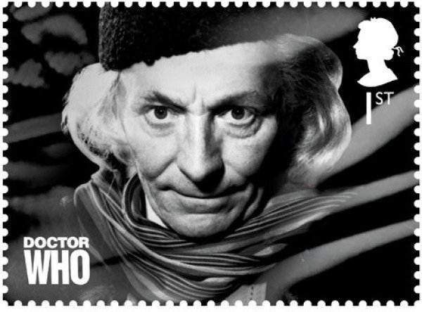 "Make Your Mail Wibbly-Wobbly Timey-Wimey With ""Doctor Who"" Postage Stamps"