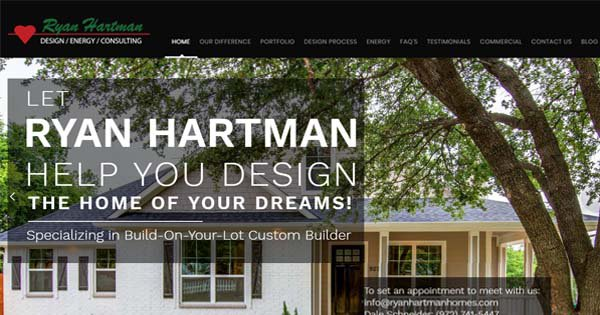 The Best Custom Home Builder in Dallas, TX Launch It's New Website