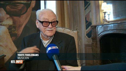Toots Thielemans: Je suis un mélange du Borinage, de Bruxelles et d'Antwerp