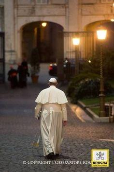 Le Pape évoque son départ