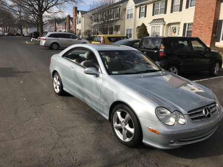 2005 mercedes benz clk 320