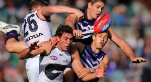 AFL Premiership Live – Round 17 – Fremantle vs GWS Giants – 13th July