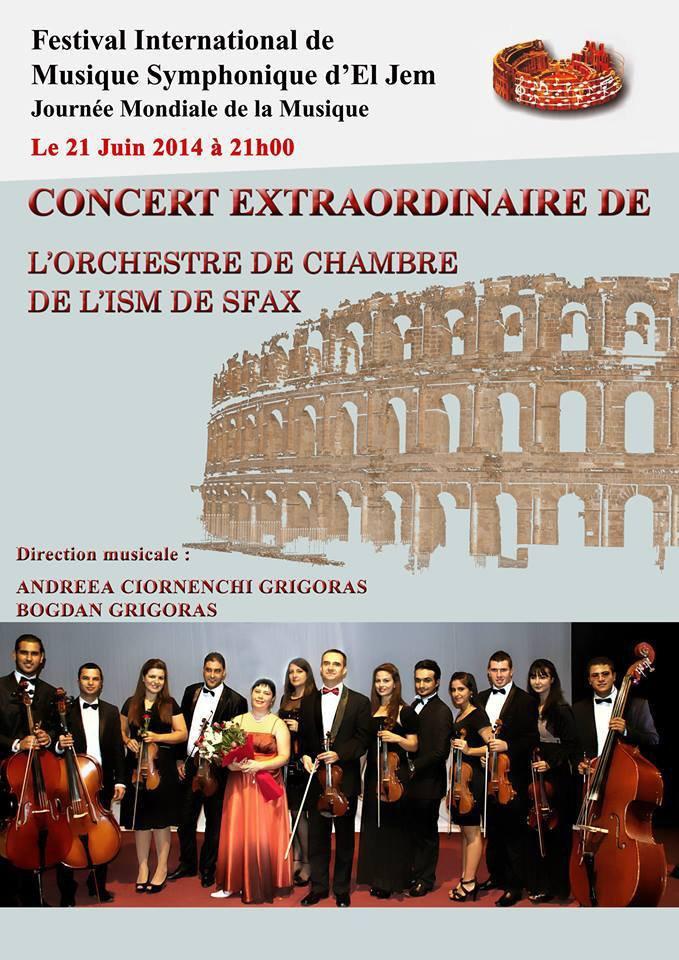 Festival International de Musique Symphonique d'El Jem 2014