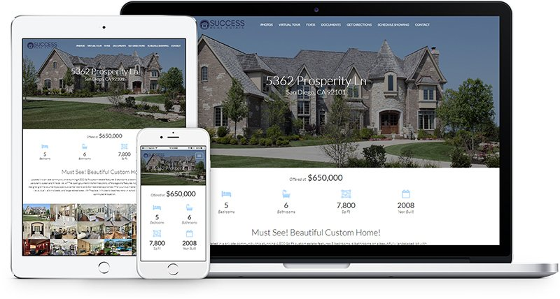 New Property Website Design! - Profusion360