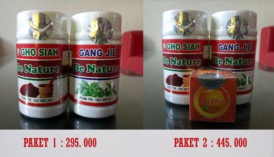 Gang Jie & Gho Siah Obat Herbal Sipilis | Obat Sipilis