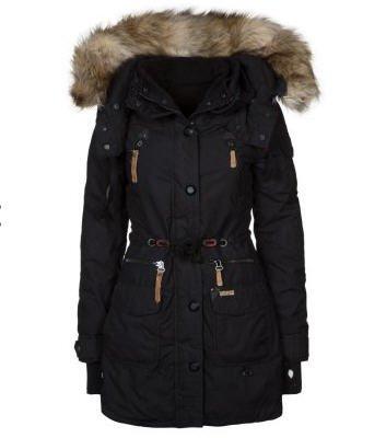 khujo camilla veste d 39 hiver noir zalando tendance mode femme. Black Bedroom Furniture Sets. Home Design Ideas