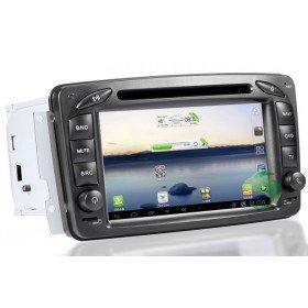 Android 4.0 Auto DVD Player GPS Navigationssystem für Mercedes-Benz C Klasse W203(2000 2001 2002 2003 2004 2005) C180 C200 C230 C300