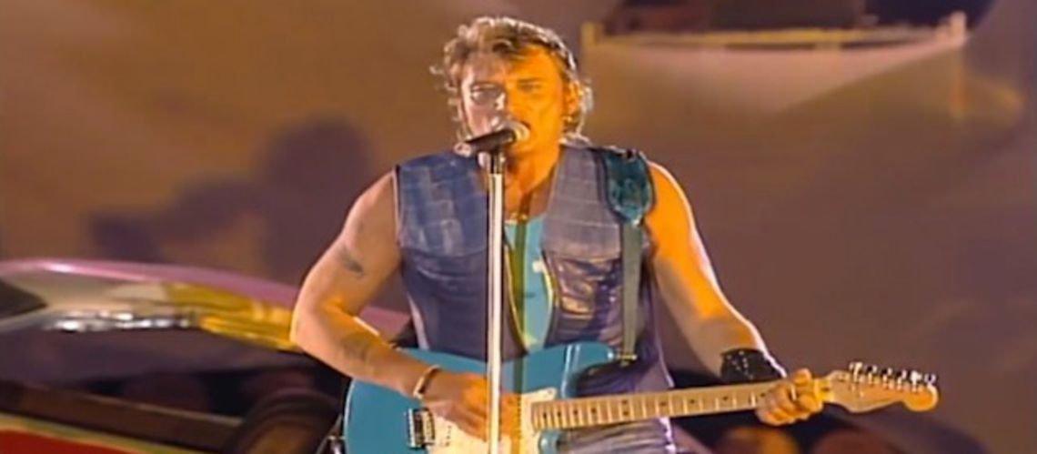 Johnny Hallyday : sur scène, ...