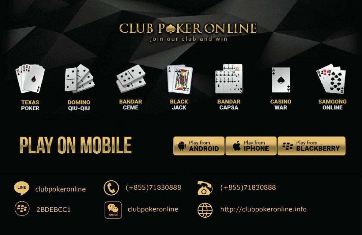 Situs Club Game Judi Poker Online Indonesia Terpercaya