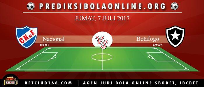 Prediksi Nacional Vs Botafogo 7 Juli 2017