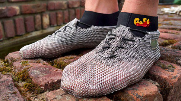 Chainmail Sneakers Are Perfect For Knights On Casual Fridays
