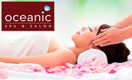Oceanic Spa & Salon deal in Pune, Mumbai | spa services, wellness, body spa, body massage, head massage, hair spa, hair care services, wellness services, steam bath, shower | Oceanic Spa & Salon -m...