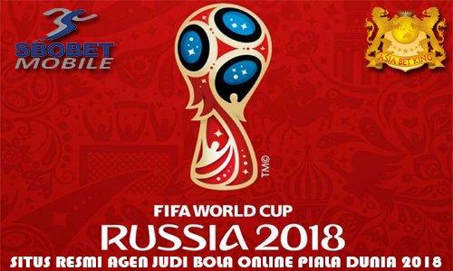 SBOBET Bandar Judi Taruhan Bola Online Piala Dunia 2018