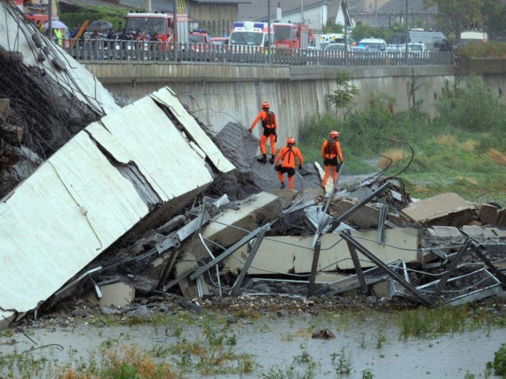 Viaduc écroulé à Gênes : les principales réactions politiques françaises