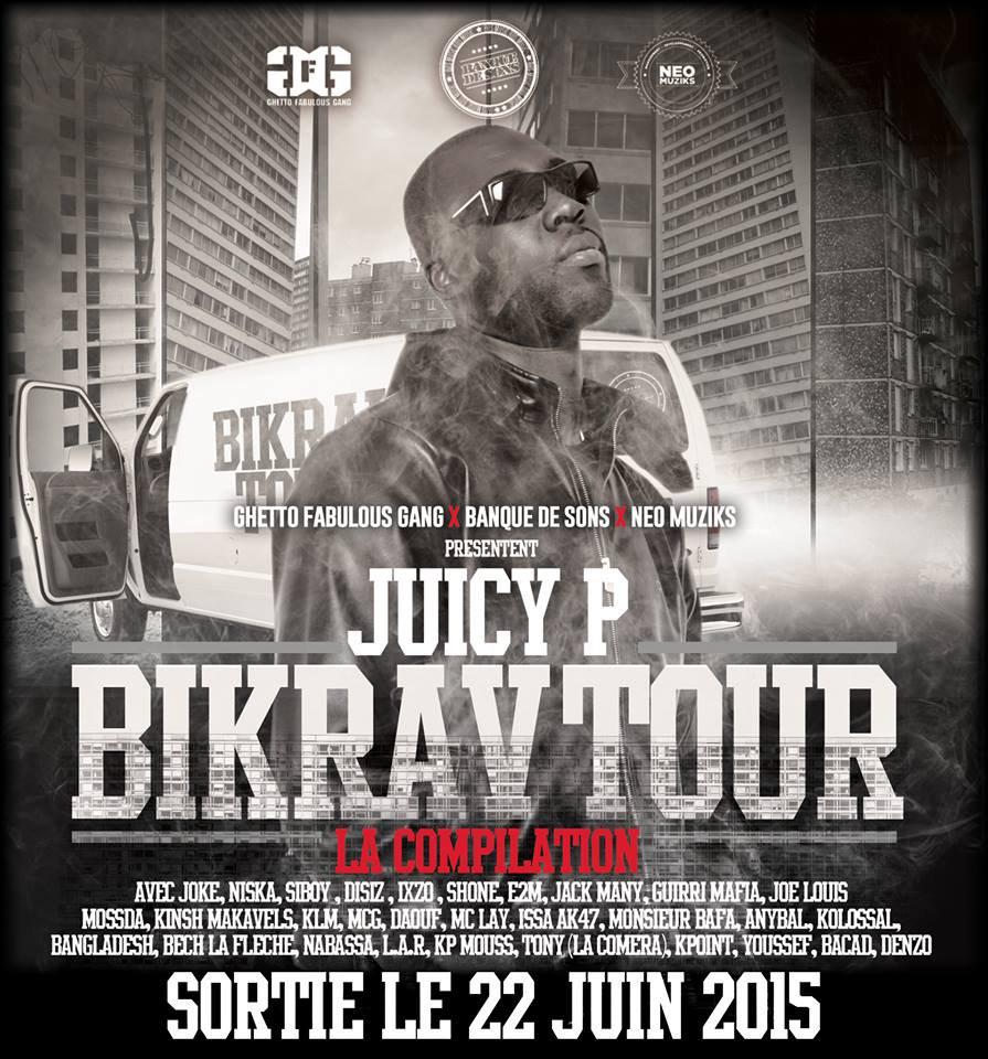 """Découvrez le nouveau clip de Juicy P en featuring avec Joke """" Comme ça """""""