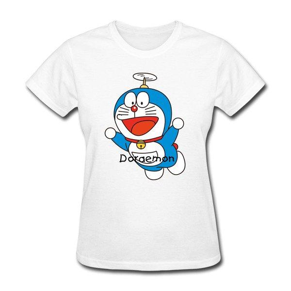 Flying Doraemon Short Sleeve T-shirts on Sale-HICustom.net