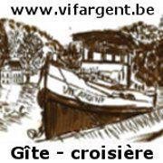 """Le """"Vif Argent"""", gîte flottant"""