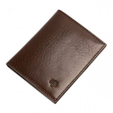 Ladylike Mulberry 8 Slots Natural Leathers Passport Cover Chocolate Save 60%