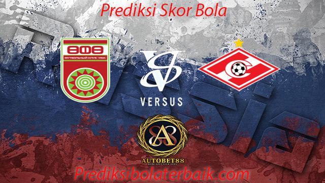 Prediksi UFA vs Spartak Moscow 23 Juli 2017 - Prediksi Bola