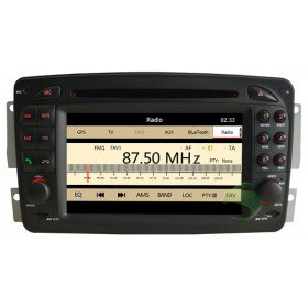 Auto DVD Player GPS Navigationssystem für Mercedes-Benz CLK-C209(1998 1999 2000 2001 2002 2003 2004)