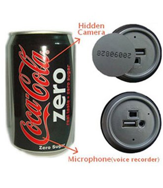 Spy Coca Cola Can Camera, Spy Coca Cola Can Camera In Delhi India - 9650923110