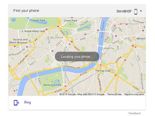 """Google lance une fonction """"trouver mon téléphone"""""""