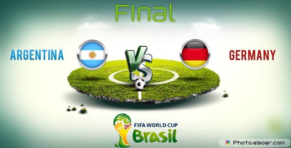 مباراة المانيا والارجنتين بث مباشر للجوال