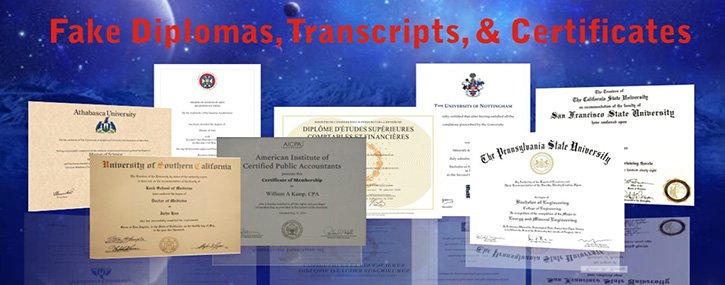 Fake College Degree or Diploma | High School Diploma