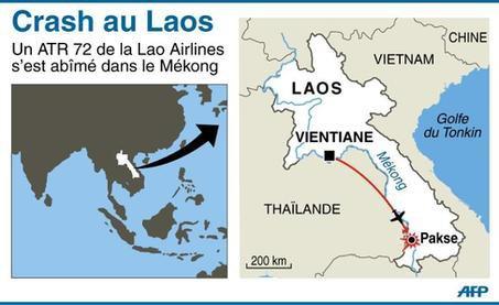 Laos: plus de 40 morts, dont des étrangers, dans la chute d'un avion