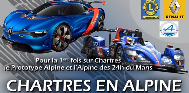 Agenda : Chartres en Alpine le 5 octobre | le blog auto