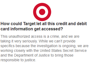 Target Data-Breach Fallout