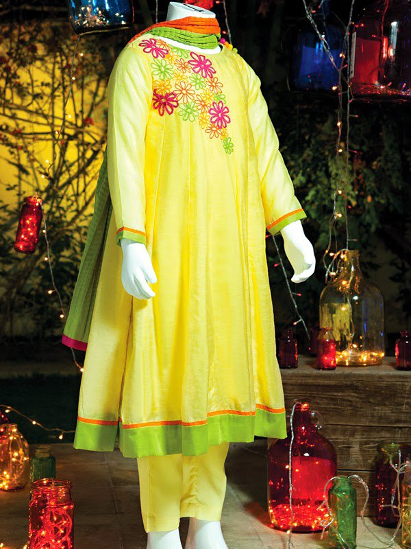 Junaid Jamshed Eid Dresses For Kids 2014 | New Shalwar ...