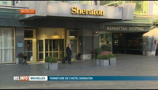 Déclaré en faillite, l'hôtel Sheraton a fermé ses portes ce midi