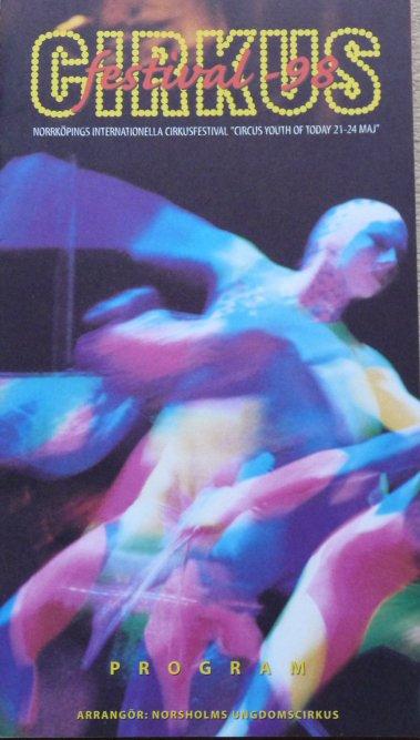 A vendre / On sale / Zu verkaufen / En venta / для продажи :  Programme Cirkus Festival 1998