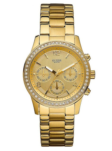 GUESS U14503L1 Gold Stainless Steel | The Best Items