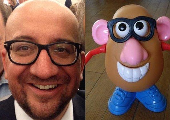 Disney demande à Charles Michel d'arrêter de se déguiser en Mr Patate