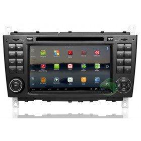 Android 4.0 Auto DVD Player GPS Navigationssystem für Mercedes-Benz CLK W209(2004 2005 2006 2007 2008 2009 2010 2011)