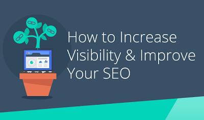 just free learn : How to Improve Visibility and SEO (infographic)