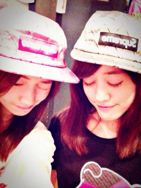 大島優子 sur Twitter : supremeセット♥︎ #supreme #福田沙紀 http://t.co/FtZf0CSKSp