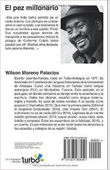 El pez millonario (Spanish Edition): Wilson Moreno Palacios: 9781523283040: Amazon.com: Books